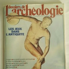 Varios objetos de Arte: DOSSIERS ARCHEOLOGIE MAGAZINE. Lote 172917694