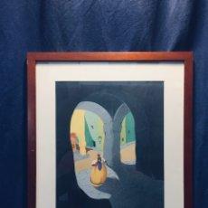 Arte: LAMINA PEDRO MAIRATA SERRANO ABC ENDESA DE OBRA DE 1932 LUZ Y SOMBRAS 48X39CMS. Lote 173008243