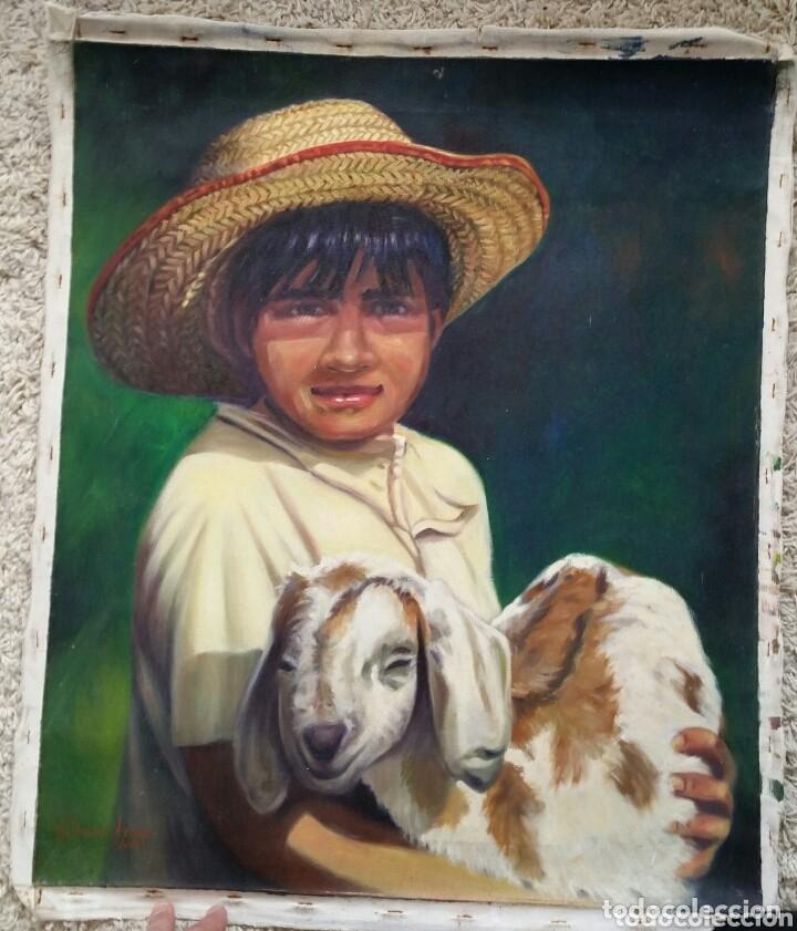 Varios objetos de Arte: pintura cuadro óleo sobre lienzo 64 x 53 cm - Foto 2 - 173030999