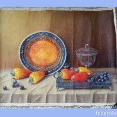 Varios objetos de Arte: PINTURA CUADRO ÓLEO SOBRE LIENZO 62 X 53 CM. Lote 173031277