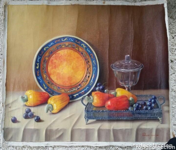 Varios objetos de Arte: pintura cuadro óleo sobre lienzo 62 x 53 cm - Foto 2 - 173031277
