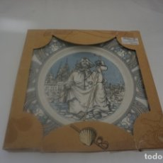 Varios objetos de Arte: PLATO CERAMICA SANTIAGO XACOBEO 99 PONTESA. Lote 173057303