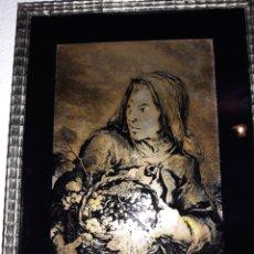 Varios objetos de Arte: BONITO PLATA DE LEY EL DIBUJO. Lote 173823364