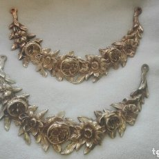 Varios objetos de Arte: MARAVILLOSOS EMBELLECEDORES EN BRONCE. Lote 173932607