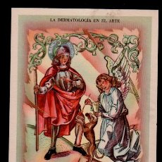 Varios objetos de Arte: C16-8 LA DERMATOLOGIA EN EL ARTE. COLECCION COMPLETA DE 9 POSTALES CON GRABADOS ALEGORICOS A ESTE TE. Lote 173961198