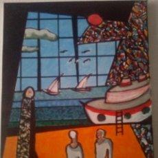 Varios objetos de Arte: PUERTO: VENTANA A LA NATURALEZA. RAMON TURÓN. Lote 173971444