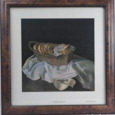 Varios objetos de Arte: LA CESTA DE PAN 1926 / MUSEO SALVADOR DALÍ 1990 ST PETERSBURGO. Lote 174158514