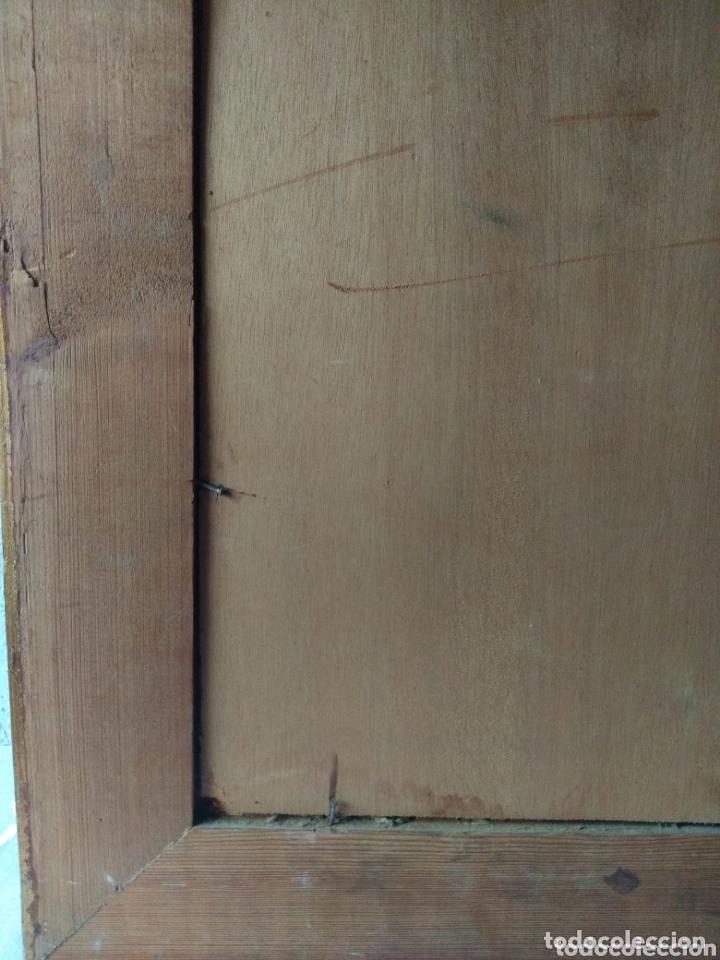 Varios objetos de Arte: CUADRO ( BUSCADO, FECHADO EL 24- 8- 47 ) PINTADO SOBRE TABLA . MÁS CUADROS EN MÍ PERFIL - Foto 4 - 174182749