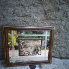 Varios objetos de Arte: CUADRO PLATA 925. Lote 174375907