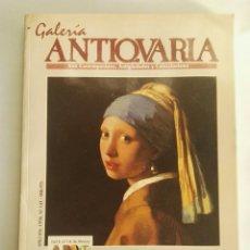 Varios objetos de Arte: GALERÍA ANTIQVARIA N° 137 1996 VERMEER. Lote 174507462