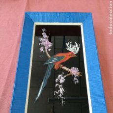 Varios objetos de Arte: CUADRO PINTADO SOBRE CRISTAL - FIRMADO MORANT. Lote 175102722