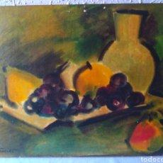 Varios objetos de Arte: ANTIGUO (ESCUELA BALMES- BARCELONA, OLEO SOBRE TABLA FIRMADO ) . MÁS CUADROS EN MÍ PERFIL.. Lote 175130234