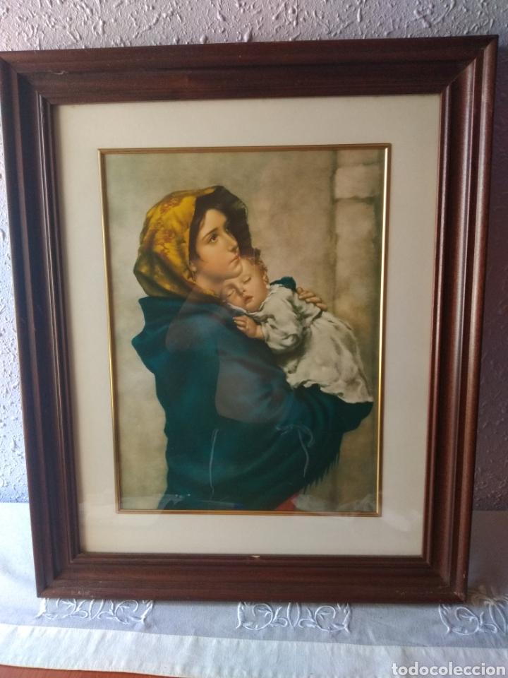 Varios objetos de Arte: CUADRO ( VIRGEN MARÍA Y NIÑO JESÚS ). MÁS CUADROS EN MÍ PERFIL. - Foto 2 - 175133312