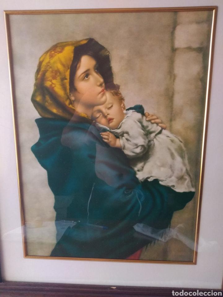 Varios objetos de Arte: CUADRO ( VIRGEN MARÍA Y NIÑO JESÚS ). MÁS CUADROS EN MÍ PERFIL. - Foto 3 - 175133312