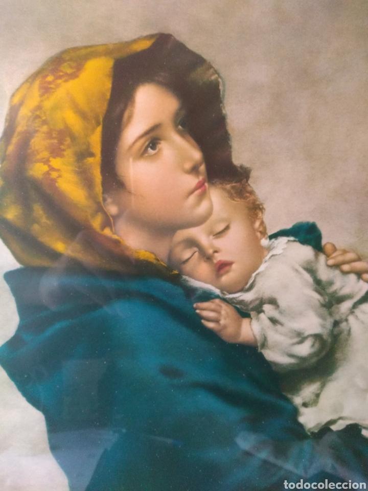 Varios objetos de Arte: CUADRO ( VIRGEN MARÍA Y NIÑO JESÚS ). MÁS CUADROS EN MÍ PERFIL. - Foto 4 - 175133312