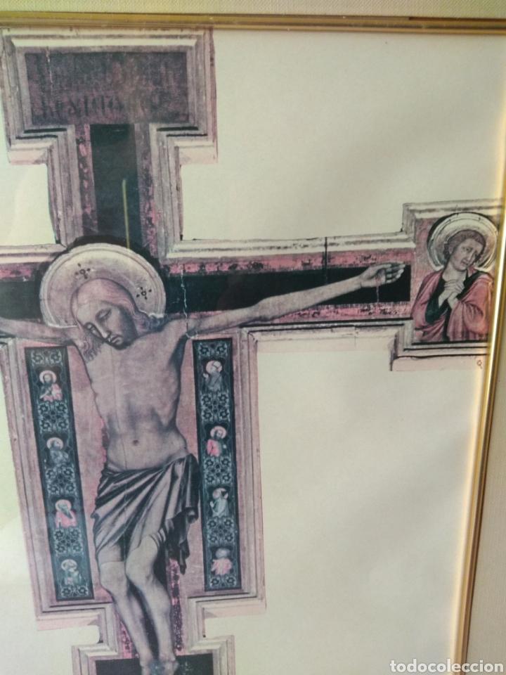 Varios objetos de Arte: CUADRO DE GESU' CROCEFISSO ( GIOTTO ) MÁS CUADROS EN MÍ PERFIL. - Foto 4 - 175135818