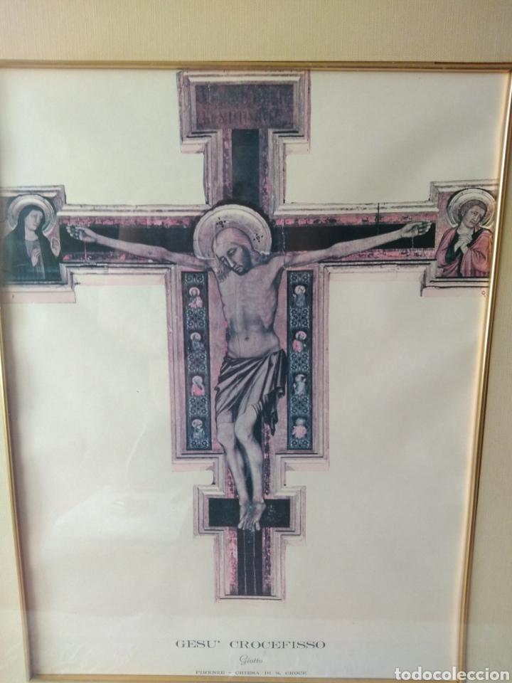 Varios objetos de Arte: CUADRO DE GESU' CROCEFISSO ( GIOTTO ) MÁS CUADROS EN MÍ PERFIL. - Foto 5 - 175135818