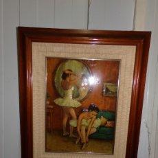 Varios objetos de Arte: CUADRO ESMALTE. Lote 175259934