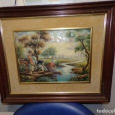 Varios objetos de Arte: CUADRO ESMALTE. Lote 175261570