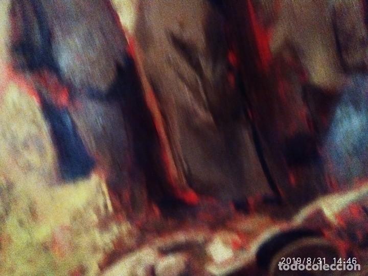 Varios objetos de Arte: DIBUJO ACUARELA SOBRE CARTON PAPEL ESCENA CRIMEN POLICÍAS DESCONOZCO HECHO CARTEL COCA-COLA RARO SIN - Foto 6 - 175283454