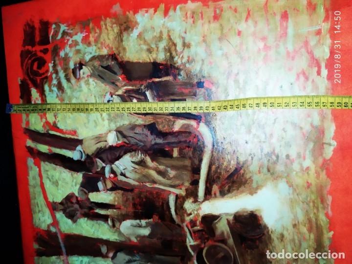 Varios objetos de Arte: DIBUJO ACUARELA SOBRE CARTON PAPEL ESCENA CRIMEN POLICÍAS DESCONOZCO HECHO CARTEL COCA-COLA RARO SIN - Foto 8 - 175283454