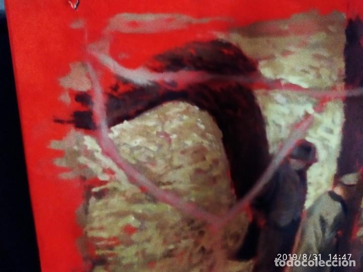 Varios objetos de Arte: DIBUJO ACUARELA SOBRE CARTON PAPEL ESCENA CRIMEN POLICÍAS DESCONOZCO HECHO CARTEL COCA-COLA RARO SIN - Foto 9 - 175283454
