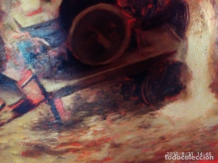 Varios objetos de Arte: DIBUJO ACUARELA SOBRE CARTON PAPEL ESCENA CRIMEN POLICÍAS DESCONOZCO HECHO CARTEL COCA-COLA RARO SIN - Foto 11 - 175283454