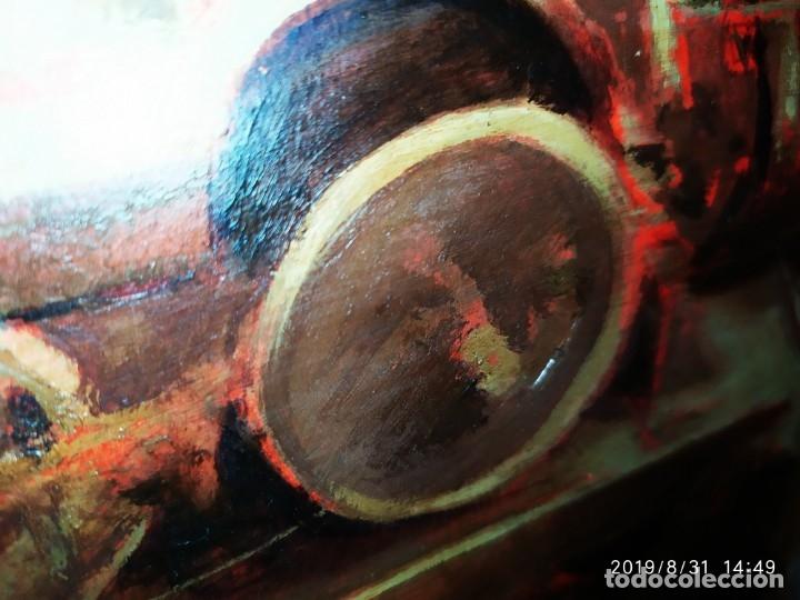 Varios objetos de Arte: DIBUJO ACUARELA SOBRE CARTON PAPEL ESCENA CRIMEN POLICÍAS DESCONOZCO HECHO CARTEL COCA-COLA RARO SIN - Foto 13 - 175283454