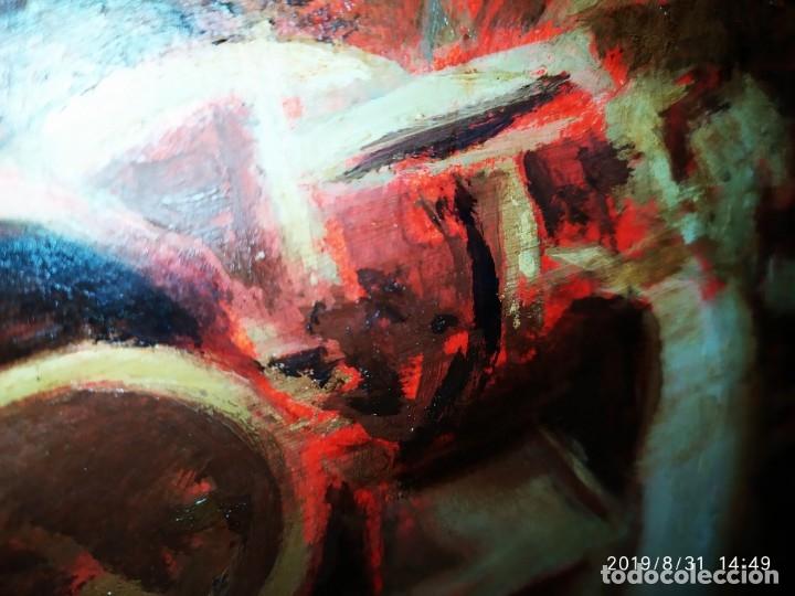 Varios objetos de Arte: DIBUJO ACUARELA SOBRE CARTON PAPEL ESCENA CRIMEN POLICÍAS DESCONOZCO HECHO CARTEL COCA-COLA RARO SIN - Foto 14 - 175283454