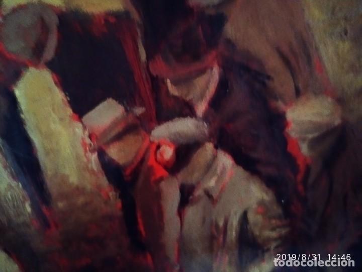 Varios objetos de Arte: DIBUJO ACUARELA SOBRE CARTON PAPEL ESCENA CRIMEN POLICÍAS DESCONOZCO HECHO CARTEL COCA-COLA RARO SIN - Foto 15 - 175283454