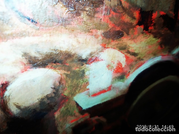Varios objetos de Arte: DIBUJO ACUARELA SOBRE CARTON PAPEL ESCENA CRIMEN POLICÍAS DESCONOZCO HECHO CARTEL COCA-COLA RARO SIN - Foto 21 - 175283454