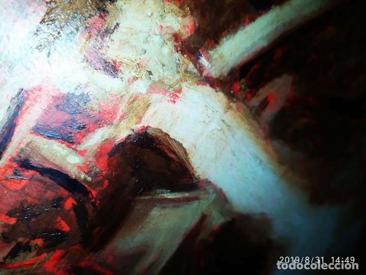 Varios objetos de Arte: DIBUJO ACUARELA SOBRE CARTON PAPEL ESCENA CRIMEN POLICÍAS DESCONOZCO HECHO CARTEL COCA-COLA RARO SIN - Foto 22 - 175283454