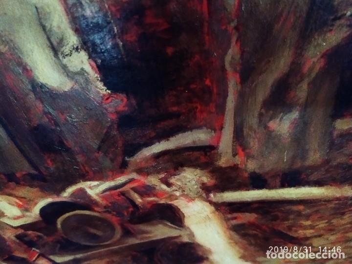 Varios objetos de Arte: DIBUJO ACUARELA SOBRE CARTON PAPEL ESCENA CRIMEN POLICÍAS DESCONOZCO HECHO CARTEL COCA-COLA RARO SIN - Foto 24 - 175283454