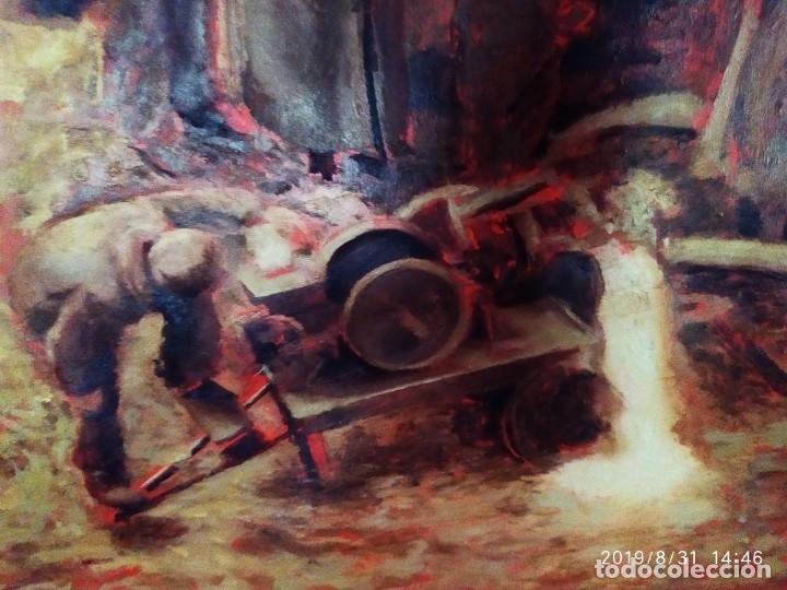 Varios objetos de Arte: DIBUJO ACUARELA SOBRE CARTON PAPEL ESCENA CRIMEN POLICÍAS DESCONOZCO HECHO CARTEL COCA-COLA RARO SIN - Foto 26 - 175283454