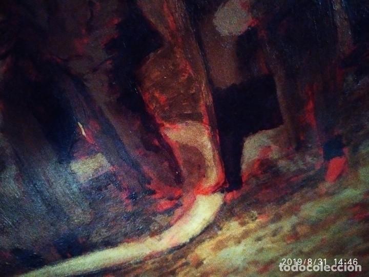 Varios objetos de Arte: DIBUJO ACUARELA SOBRE CARTON PAPEL ESCENA CRIMEN POLICÍAS DESCONOZCO HECHO CARTEL COCA-COLA RARO SIN - Foto 28 - 175283454