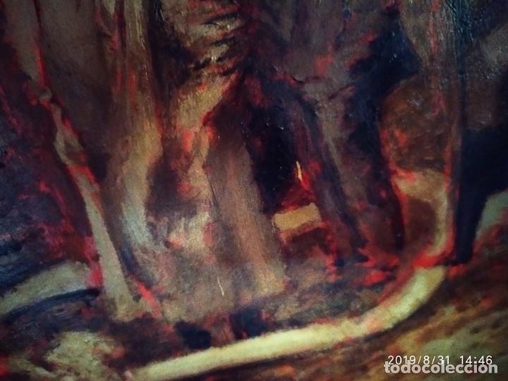 Varios objetos de Arte: DIBUJO ACUARELA SOBRE CARTON PAPEL ESCENA CRIMEN POLICÍAS DESCONOZCO HECHO CARTEL COCA-COLA RARO SIN - Foto 29 - 175283454