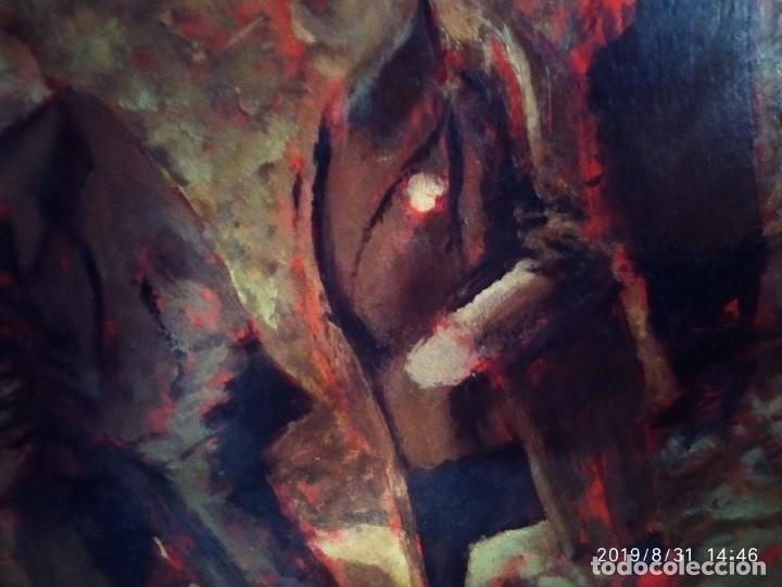 Varios objetos de Arte: DIBUJO ACUARELA SOBRE CARTON PAPEL ESCENA CRIMEN POLICÍAS DESCONOZCO HECHO CARTEL COCA-COLA RARO SIN - Foto 31 - 175283454