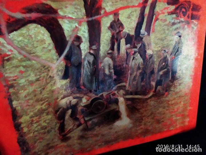 Varios objetos de Arte: DIBUJO ACUARELA SOBRE CARTON PAPEL ESCENA CRIMEN POLICÍAS DESCONOZCO HECHO CARTEL COCA-COLA RARO SIN - Foto 33 - 175283454