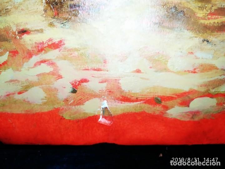 Varios objetos de Arte: DIBUJO ACUARELA SOBRE CARTON PAPEL ESCENA CRIMEN POLICÍAS DESCONOZCO HECHO CARTEL COCA-COLA RARO SIN - Foto 50 - 175283454