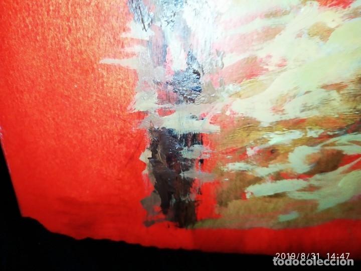 Varios objetos de Arte: DIBUJO ACUARELA SOBRE CARTON PAPEL ESCENA CRIMEN POLICÍAS DESCONOZCO HECHO CARTEL COCA-COLA RARO SIN - Foto 51 - 175283454