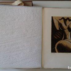 Varios objetos de Arte: MAN RAY: L'ART DE NOTRE TEMPS, 1973, CON UNA LITOGRAFÍA FIRMADA Y NUMERADA. 10 EJEMPLARES.. Lote 175325653