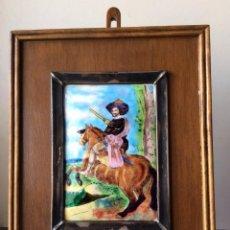 Varios objetos de Arte: ESMALTE AL FUEGO OBRA DE VELAZQUEZ ,. Lote 175454764