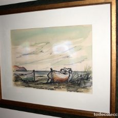 Varios objetos de Arte: JOAQUIN MICHAVILA. PINTOR. VALENCIA. ORIGINAL. Lote 175612969
