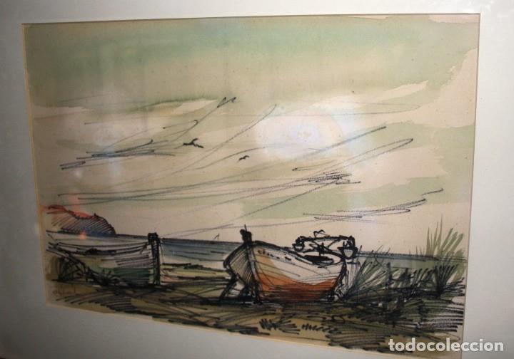 Varios objetos de Arte: JOAQUIN MICHAVILA. PINTOR. VALENCIA. ORIGINAL - Foto 3 - 175612969