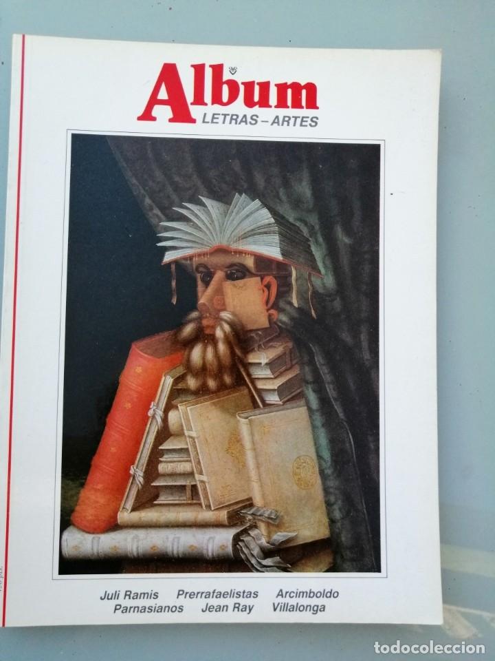 ALBUM, LETRAS-ARTES. Nº 12. DE LA GRAN REVISTA ILUSTRADA. (Arte - Varios Objetos de Arte)