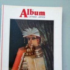 Varios objetos de Arte: ALBUM, LETRAS-ARTES. Nº 12. DE LA GRAN REVISTA ILUSTRADA.. Lote 175825988