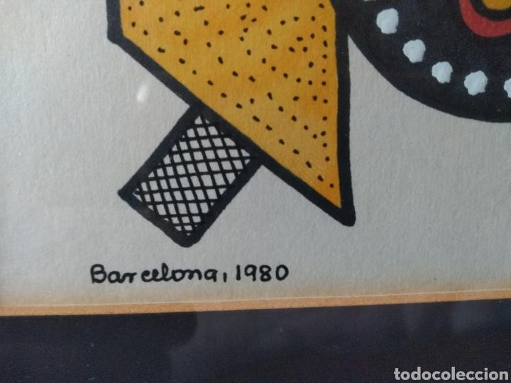 Varios objetos de Arte: CUADRO ( FIRMADO J. BORGIR EN BARCELONA 1980 ). MÁS CUADROS EN MÍ PERFIL. - Foto 4 - 175132320