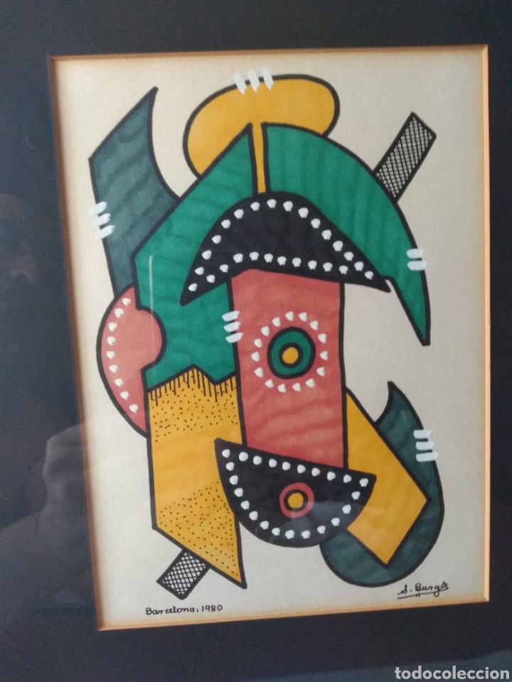 Varios objetos de Arte: CUADRO ( FIRMADO J. BORGIR EN BARCELONA 1980 ). MÁS CUADROS EN MÍ PERFIL. - Foto 5 - 175132320