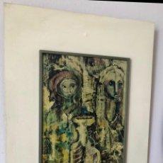 Varios objetos de Arte: CUADRO ESMALTE PAUL GERARD. Lote 176157044