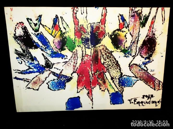 RECONOCIDO PINTOR VALENCIANO VICENTE ENGUIDANOS GARRIDO PINTURAS MUSICALES. ÚNICO EN EL MUNDO (Arte - Varios Objetos de Arte)